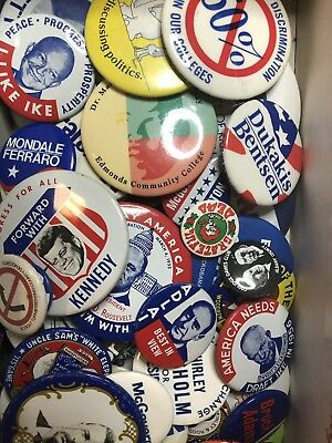 Lot of 50+ Political Campaign Buttons