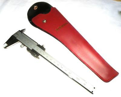 """Mitutoyo  Imperial / Metric Vernier calipers 6"""" / 15cm with case"""
