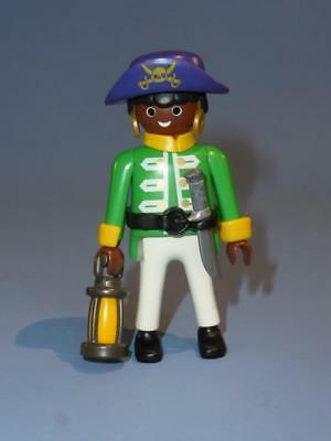 island E Playmobil Pirate Captain Figure with Weapon  for ship boat