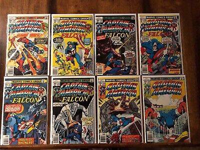Captain America Comic Book Lot (14) Bronze Age Bagged/Boarded High End Cond