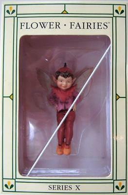 FLOWER FAIRIES Mulberry Fairy - Series X Cicely Mary Barker- Wire Pick Incl. NIB