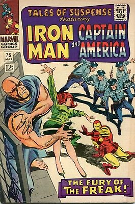 Tales Of Suspense # 75 - 1St Appearance Of Sharon Carter - Key - Cents Copy