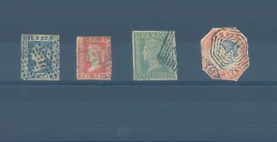 British India early used stamps 1854 (CV $150 EUR130)