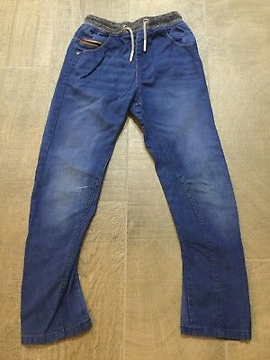 Boys NEXT Elasticated Waist Jeans In Age 9 Years