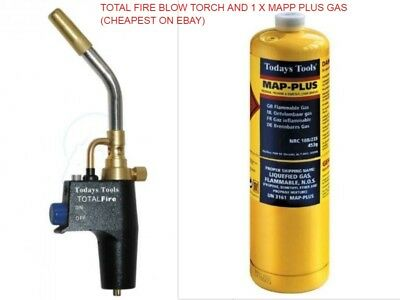MAP-Pro® MONUMENT GAS TORCH fits DISPOSABLE PROPANE MAPPLUS® CGA600 MAPP®