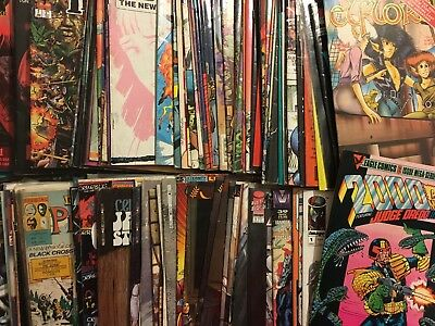 Huge Lot Of 100 Independent Comics Image Comico Dark Horse Etc.