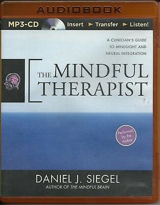 The Mindful Therapist: A Clinician's Guide to Mindsight MP3 - DANIEL J SIEGEL