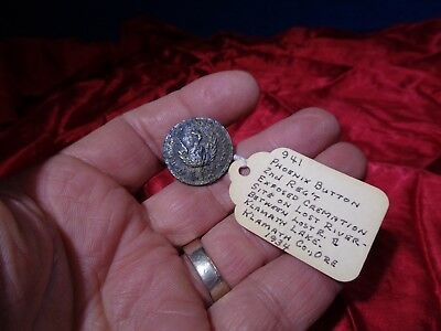 Old Civil War Uniform Metal Button #1