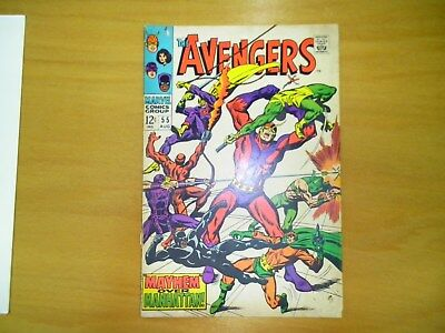 Avengers #55 (Check out 12 photos) 1st Full Appearance of Ultron