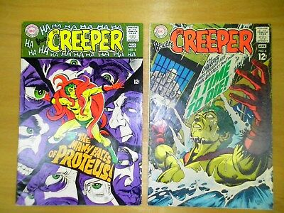 Beware the Creeper (1st Series) #2, & #6, (Check out 12 photos) Steve Ditko