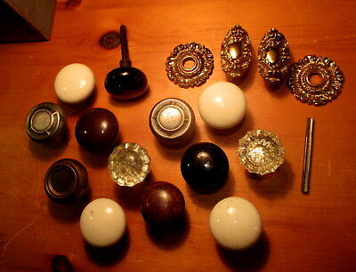 15  Antique Door Knobs Victorian Door Hardware Vintage Interior Door Knob