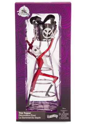 Disney Jack Skellington The Nightmare Before Christmas Tree Topper New Burton