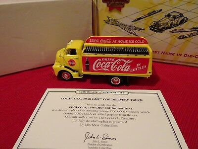 Matchbox Collectibles MOY YYM96546 COCA-COLA 1948 GMC COE Delivery Truck, 1999