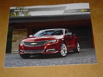 2019 Chevrolet Impala Brochure Mint! 28 Pages