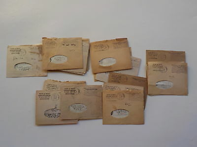 23 WWII V-Mails Letters 1728th Engineers Toledo Ohio Lot World War Two Old WW2