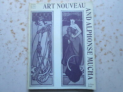 Art Nouveau and Alphonse MUCHA by Brian Reade - 1963 Exhibition Book