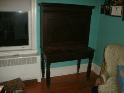 18Th Century Secretary Desk ~~ Could Be Older Could Be Not As Old..antique