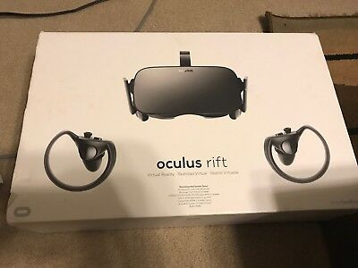 OCULUS RIFT TOUCH (CV1) Virtual Reality Headset w  Touch Controllers ... 3a608274f8