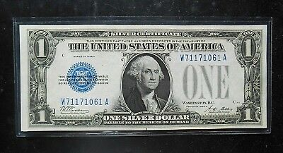 "1928 A $1 Silver Certificate """"FUNNY BACK"""" Fr.1601 GEM NEW - Bright & Colorful"