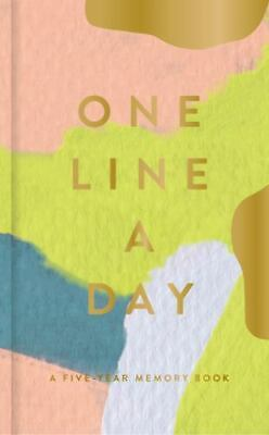 Modern One Line a Day: A Five-Year Memory Book (Diary)