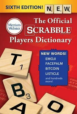 The Official Scrabble Players Dictionary, Sixth Edition (Paperback or Softback)