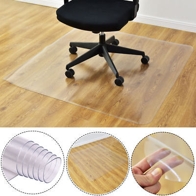 "Chair 36"" x 48"" Floor Home Office PVC Floor Mat Square 120 x 90 x 0.15cm"