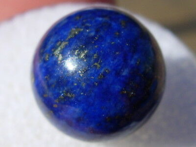 (#29)  Lapis Lazuli round BEAD 12mm wide - Natural Colored Stone