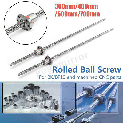 SFU1204 L300/400/500/700mm Rolled Ball Screw + Ballnut End Machined For CNC UK
