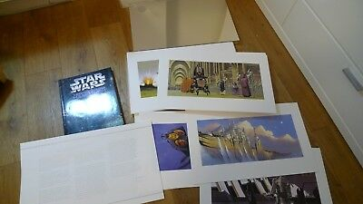STAR WARS Lithograph Artworks Box by Doug Chiang - Episode 1