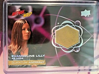 EVANGELINE LILLY as HOPE 2018 UD Ant-Man And The Wasp Quantum Anomaly Relic