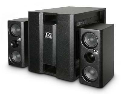 LD Systems DAVE 8 XS PA Multimedia System 1400 W Subwoofer Lautsprecher Satellit