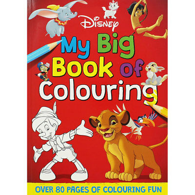 Disney My Big Book of Colouring by Disney (Paperback), Children's Books, New