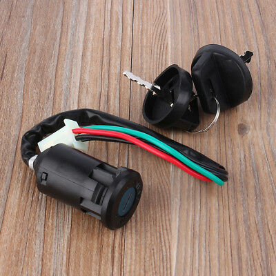 4 waterproof Wire Ignition Key Switch For 50 90 110 125cc ATV Quad Go Kart HH