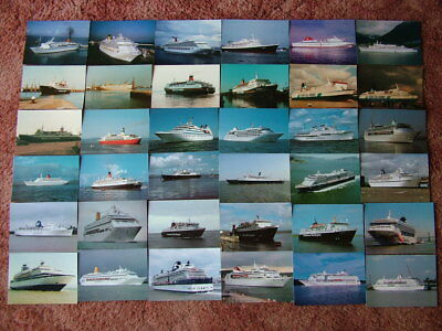36 Unused CHANTRY CLASSICS Postcards of SHIPS, BOATS.  Near Mint condition.