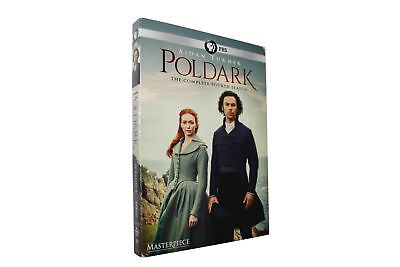 Poldark Season 4 (DVD, 3-Disc Set) Free Shipping