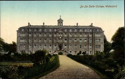 Ak Waterford Irland, Del La Salle College, total view - 2087416
