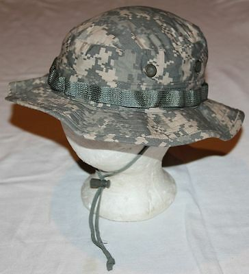 Nice Military Digital Camo Hot Weather Boonie Cap, Size 7 1/8