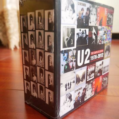 U2 Albums Collection The Complete Edition 1976-2012 CDs Box Set Sealed F&S