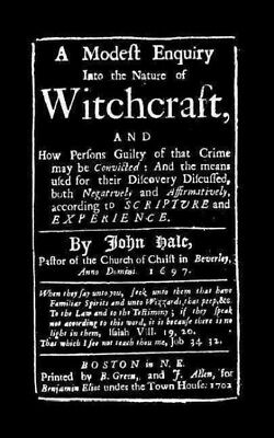 Modest Enquiry into Nature of Witchcraft, Paperback by Hale, John, ISBN-13 97...
