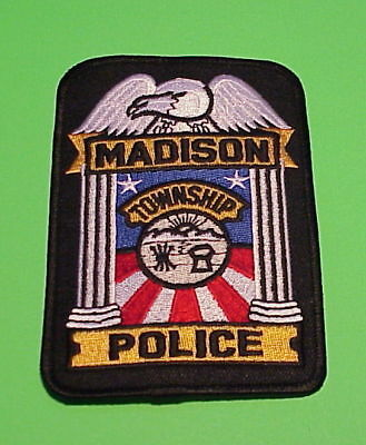 Madison Township  Ohio  Oh  Police Patch   Free Shipping!!!