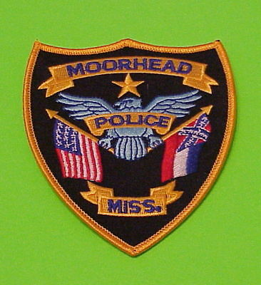 Moorhead  Mississippi  Ms  ( Flags )   Police Patch   Free Shipping!!!