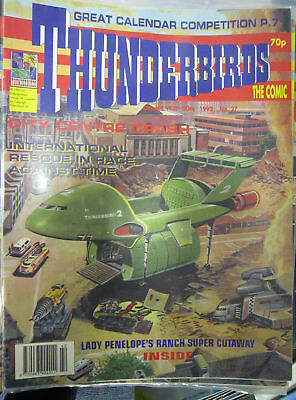 Thunderbirds Fleetway # 27 Gerry Anderson Lady Penelopes Ranch pullout