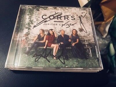 The Corrs--Jupiter Calling---Autographed,handsigned--- Uk Cd Album