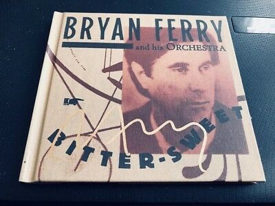 Bryan Ferry And His Orchestra--Bitter Sweet--Autographed--Cd Deluxe Album-Rare