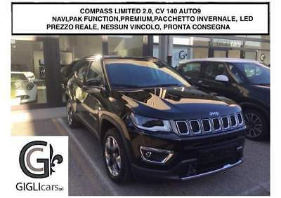 Jeep Compass LIMITED 2.0Mjet 4WD 140CV -FUNCTION/PREMIUM/WINTER