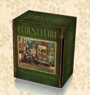 200 Rare Antique Period Furniture Books on DVD - Making Woodworking Carpentry 52