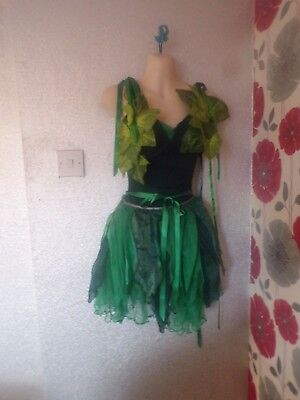 Ex Hire Tinker Bell Style 2 Piece Outfit  Size 10