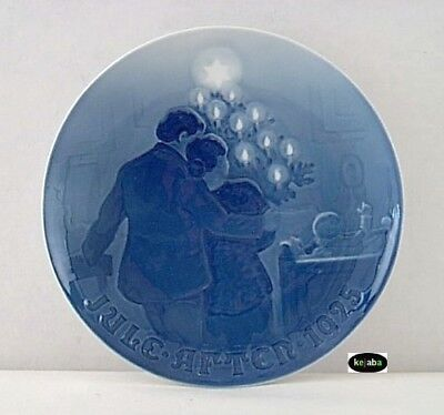 1925 JULE AFTER B & G (Bing and Grondahl) Christmas Plate