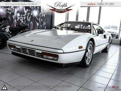 1989 328  Ferrari 328 GTS White with 31,308 Miles, for sale!