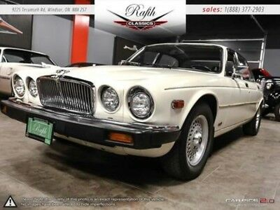 1986 Sovereign  Jaguar Sovereign White with 75,494 Miles, for sale!